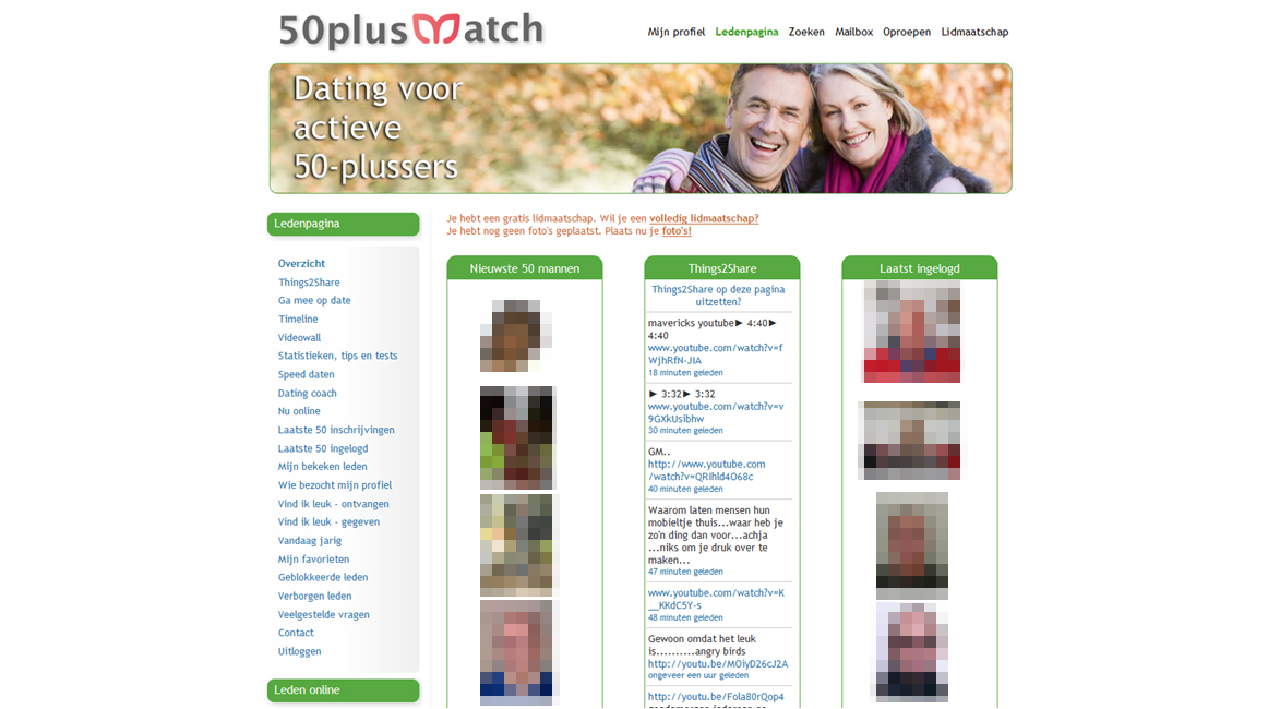 50 plus dating sites